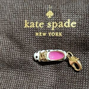 "Kate Spade ""How Charming"" Sneaker Charm"